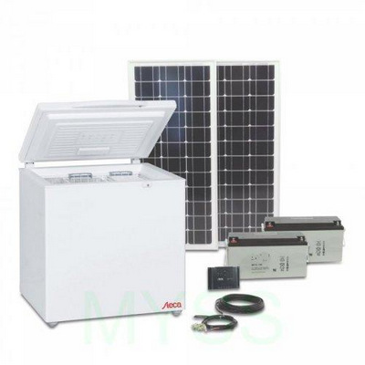 Solar refrigerators and freezers